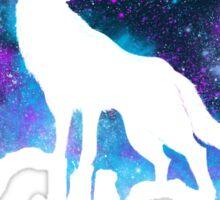 Space Howl Sticker