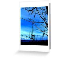 Forgotten Swing Greeting Card