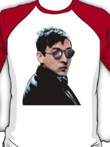 Hipster Oswald (Coloured|Black) T-Shirt