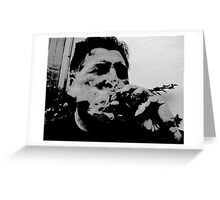 Up in Smoke Greeting Card