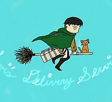 Levi's Delivery Service by 1ook