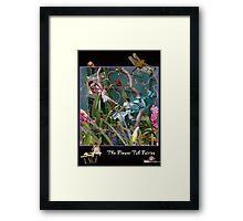 The Flower Tub Fairies Framed Print