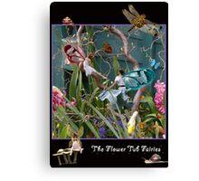 The Flower Tub Fairies Canvas Print