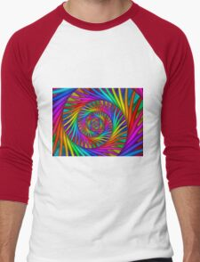 Rainbow Psychedelic Spiral Fractal  T-Shirt