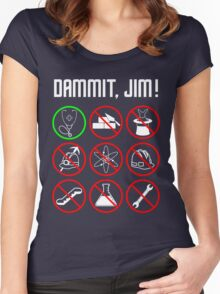 Star Trek: Just a Country Doctor Women's Fitted Scoop T-Shirt