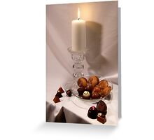Heavenly Chocolates Greeting Card
