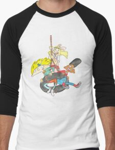 Arnold, Gerald and Helga Men's Baseball ¾ T-Shirt