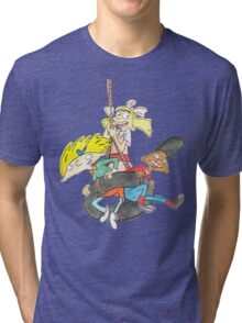 Arnold, Gerald and Helga Tri-blend T-Shirt