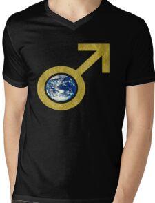male eARTh Mens V-Neck T-Shirt