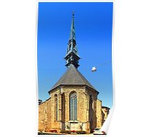 The city church of Bad Leonfelden I   architectural photography Poster