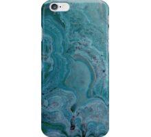 Blue stalactite iPhone Case/Skin