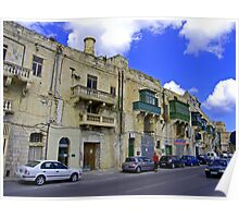 Valletta Street Poster