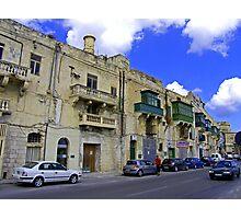 Valletta Street Photographic Print