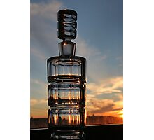Bottled Sunset Cape Breton Nova Scotia Photographic Print