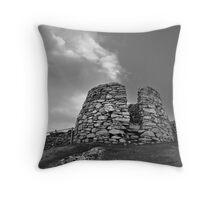 Drying Kiln, Lunna Ness Throw Pillow