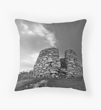 Drying Kiln, Lunna Ness Throw Pillow
