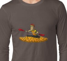 Kayaker Graffiti  T-shirt Long Sleeve T-Shirt