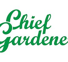 Chief Gardener Garden Design by theshirtshops