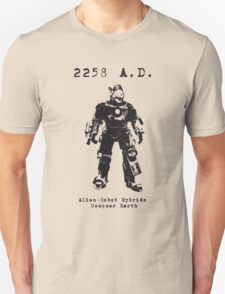 2258 A.D. This time he wants more than just cats... T-Shirt