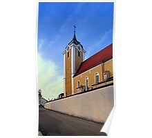 The village church of Neufelden III   architectural photography Poster