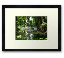 Quiet Location Framed Print