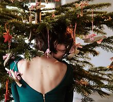 in the Christmas tree by LauraZalenga