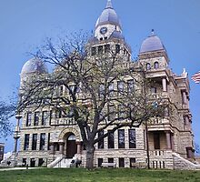 Denton County Courthouse by Mark Rogers