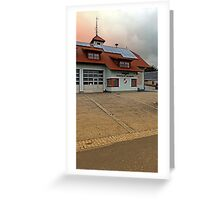 The firestation of Waldburg | architectural photography Greeting Card