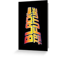 McSuperfly Special (Black to the Future) v2 Greeting Card