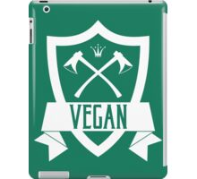 VEGAN COAT OF ARMS iPad Case/Skin