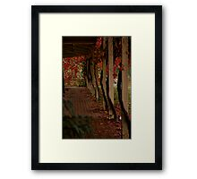 Vine Lines Framed Print