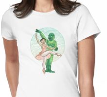 Swamp Lake Womens Fitted T-Shirt