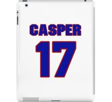 Basketball player Casper Ware jersey 17 iPad Case/Skin