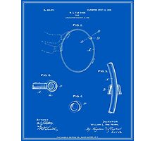 Hula Hoop Patent - Blueprint Photographic Print