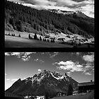 Morning snow, Montafon, Austria by Lenka