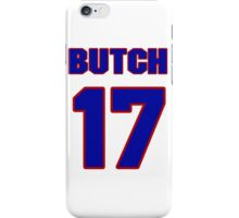 Basketball player Butch Van jersey 17 iPhone Case/Skin