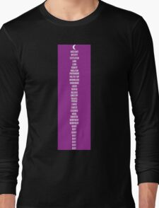 Welcome To Night Vale: The List Long Sleeve T-Shirt