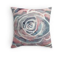 modern rose art Throw Pillow