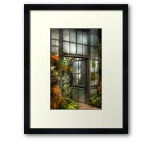 The Door to Paradise Framed Print