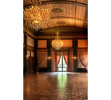 In the ballroom Photographic Print