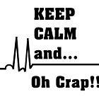 Funny Nurse Cardiac Rhythm  by gailg1957