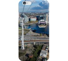 Thames Cable Car over London's Docklands iPhone Case/Skin