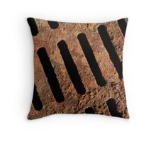 Grate Work Throw Pillow