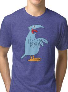 Derp is the bird. Tri-blend T-Shirt