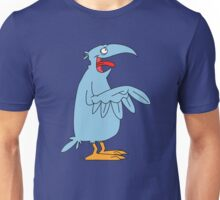 Derp is the bird. Unisex T-Shirt