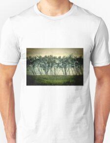 trees near the surf break lennox head Unisex T-Shirt