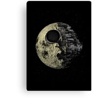 The Darkside of the Moon Canvas Print