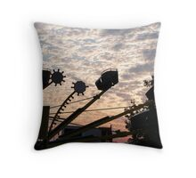 Dawn Carnival Throw Pillow