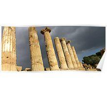 Temple of Hercules Poster