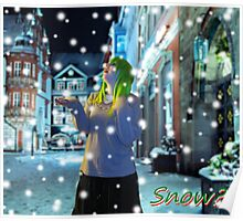 Winter Gumi - Snow? Poster
